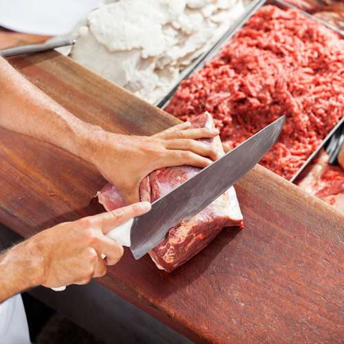 Meat By-Product Recycling for Butchers at Supermarkets