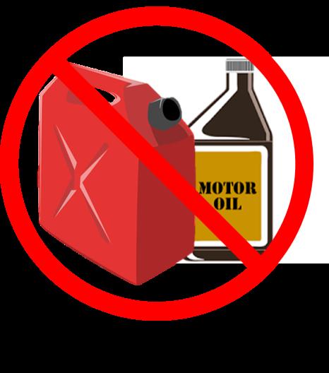 No Motor Oil