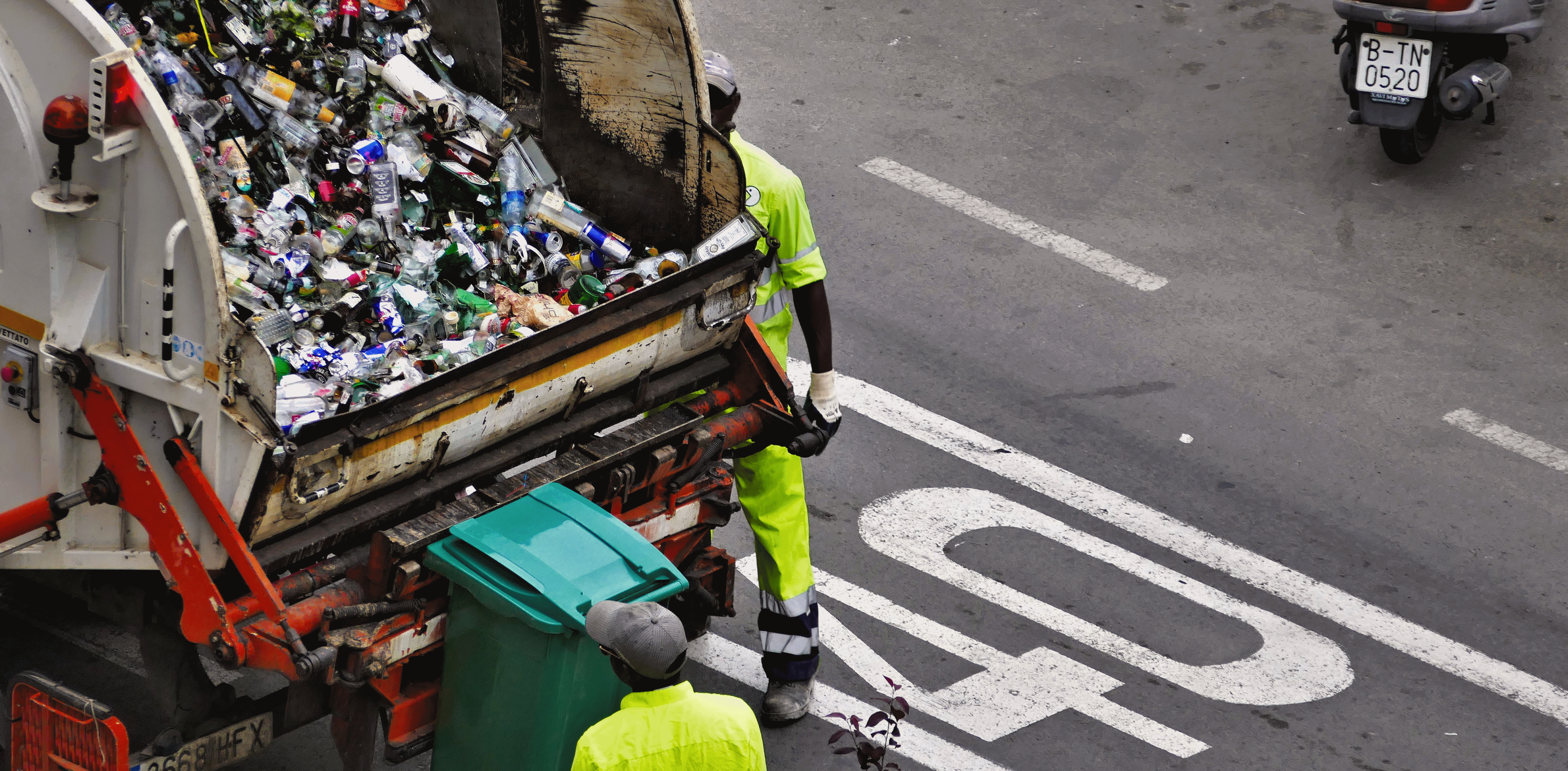 trash hauling and recycling options for sustainability